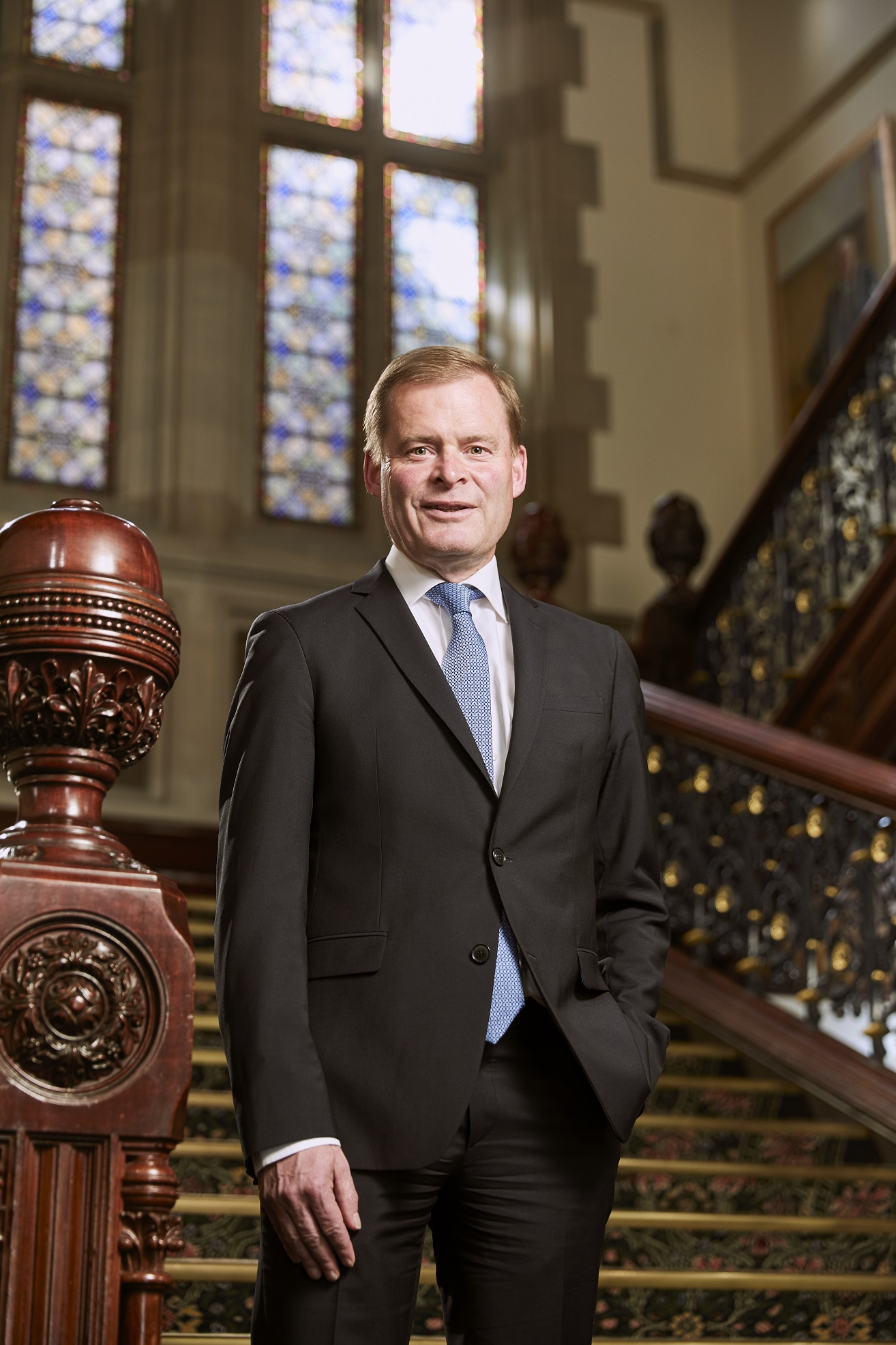 Image of Professor Peter Rathjen, Vice-Chancellor