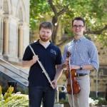 Image of Thomas Johns and Michael Riceman of the medical orchestra