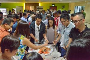 Photo of Adelaide University Alumni Association Singapore's Chinese New Year dinner