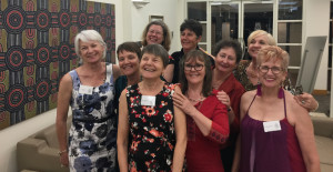 Photo of first women's graduating class of 1977 from Roseworthy