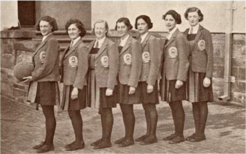 Adelaide Teachers' College Basketball team 1937