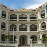 Front of Peranakan Museum