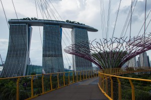 View to Marina Bay Sands