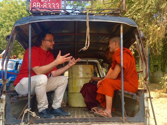 Travelling through Myanmar