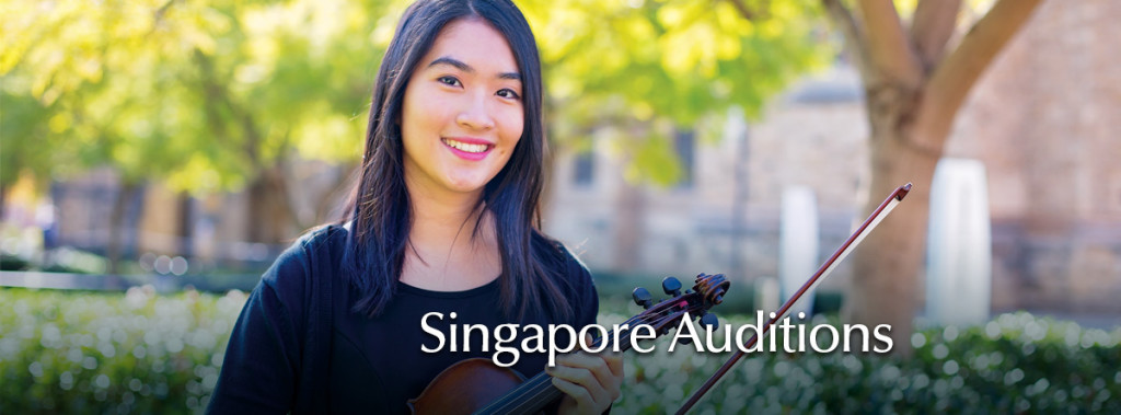 Singapore auditions