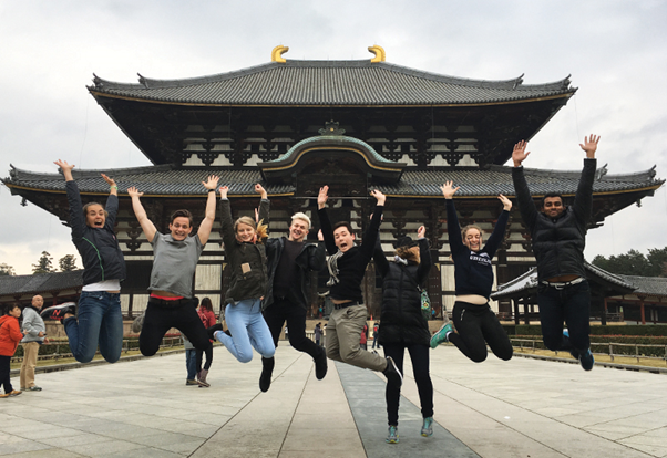 Mitsui Educational Foundation Study Tour of Japan Faculty of Arts
