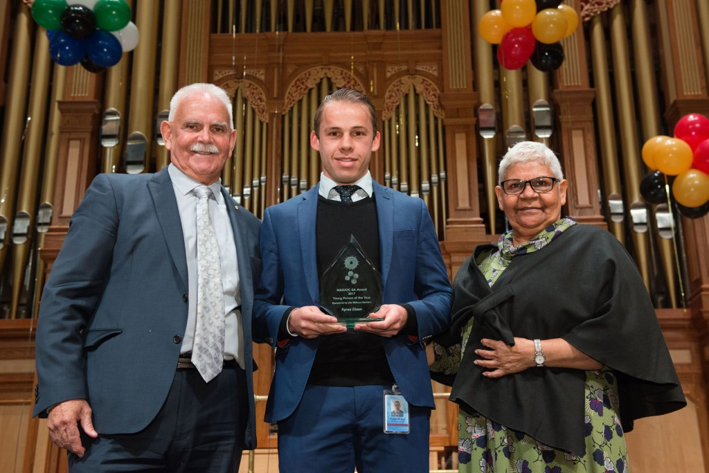 NAIDOC Young Person of the Year, Kyran  Dixon