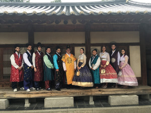 Elder Conservatorium classical guitar students continue their immersive cultural journey through South Korea