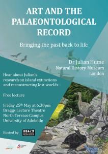 Julian Hume talk Uni Adelaide