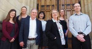 The HACS team (L-R): Katie Parsons, Dragana Calic, Malcolm Pattinson (University of Adelaide), Tara Zwaans, Cate Jerram (University of Adelaide), Agata McCormac, Marcus Butavicius.