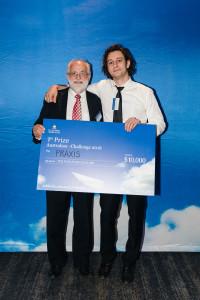 Praxis receiving their award in November 2016.