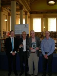 Cambridge Economic History of Australia Book Launch-authors