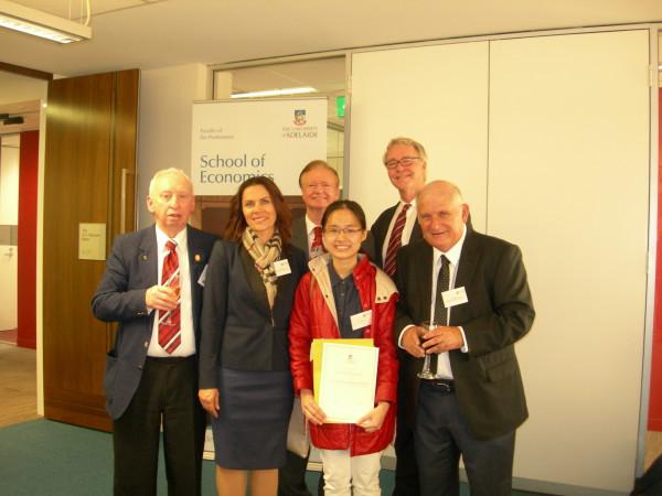 2016 Prize Ceremony School of Economics