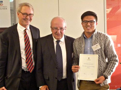 prof Paul Kerin Yahdullah Haidari and Prof Richard Blandy