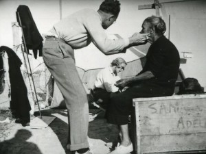 Image: Joseph Birdsell and his wife Bee collected anthropometric data from Aboriginal people all over the continent, as part of two expeditions in the 1930s and 50s. The Aboriginal woman is not identified. (image courtesy the SA Museum (aa338-5-15-120))