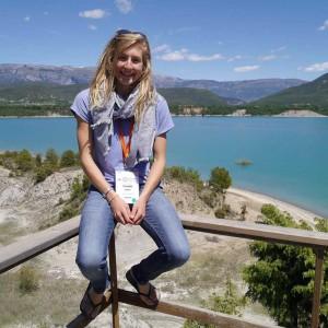 Georgina Falster in Spain at the OSM, courtesy of Georgina Falster