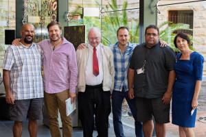 Aboriginal hair Project Opening SA Museum ACAD