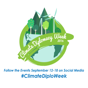 Climate Diplomacy Week with date