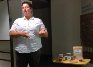 Kerry Wilkinson introduces us to some insect food products