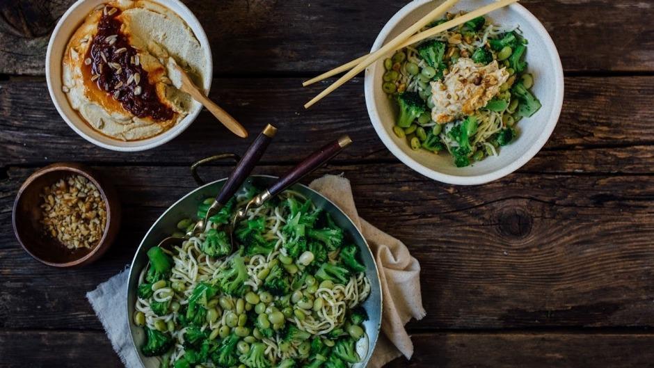 reducetarian meal