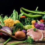 Range of foods from flexitarian diet