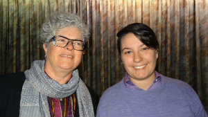 Dr. Ros Prosser and Alison Coppe