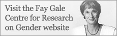 Visit the Fay Gale Centre for Research on Gender website