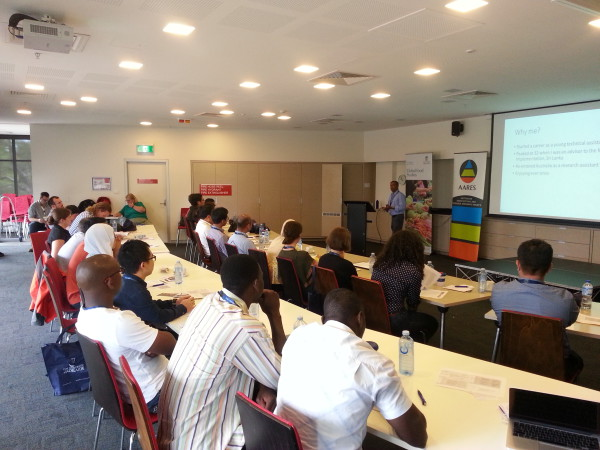 AARES ECR workshop participants