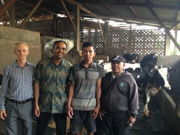 Dairy farm visit