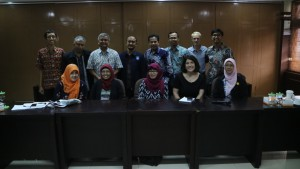 Indodairy project team and policy working group