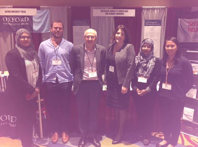 The GFAR group at the 2017 AAEA annual meeting