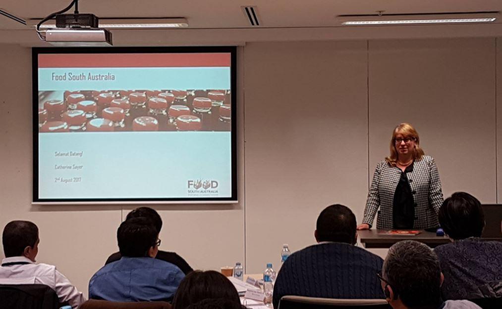 Catherine Sayer, CEO of Food South Australia