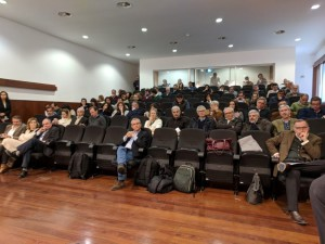 Audience at panel discussion