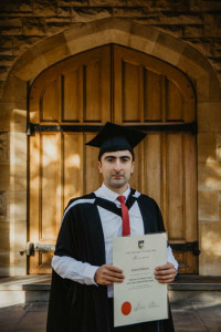 Zamir Dibirov - Master of Global Food and Agricultural Business (MGFAB)  graduate