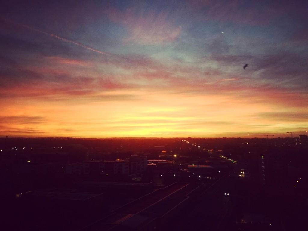 A gorgeous Southampton sunrise