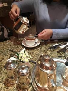 Tea at Bettys Café Tea Room.