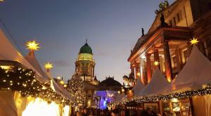 The Gendarmenmarkt Christmas Markets in Berlin.