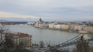 View of Budapest from the Fisherman's Bastion