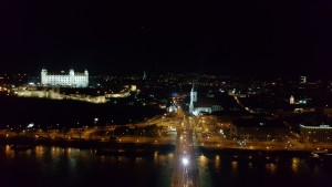 Bratislava as seen from the UFO Observation Deck