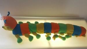 The Timunaki Caterpillar from the Museum of Broken Relationships