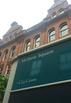 A familiar square in Belfast