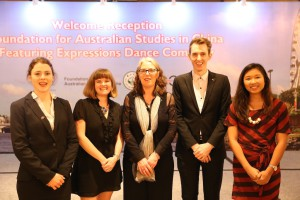 Ryan and colleague with Ambassador of the Indonesian Rupublic to Australia at Parliament House
