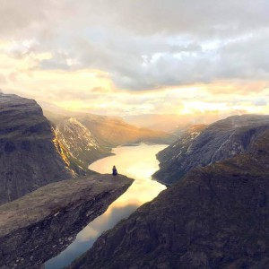 One of Norway's most famous mountains, Trolltunga