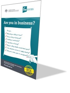 PPSR: Are you in business?