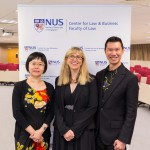 Left to Right: Assoc Prof Ng Siew Kuan, Elizabeth, Deputy Chair & Director (IP), Centre for Law & Business Prof Melissa de Zwart, Adelaide Law School Assoc Prof David Tan, Vice Dean (Academic Affairs)