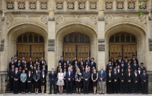Competitors in the Asia-Pacific Finals of the 2017 Manfred Lachs Space Law Moot