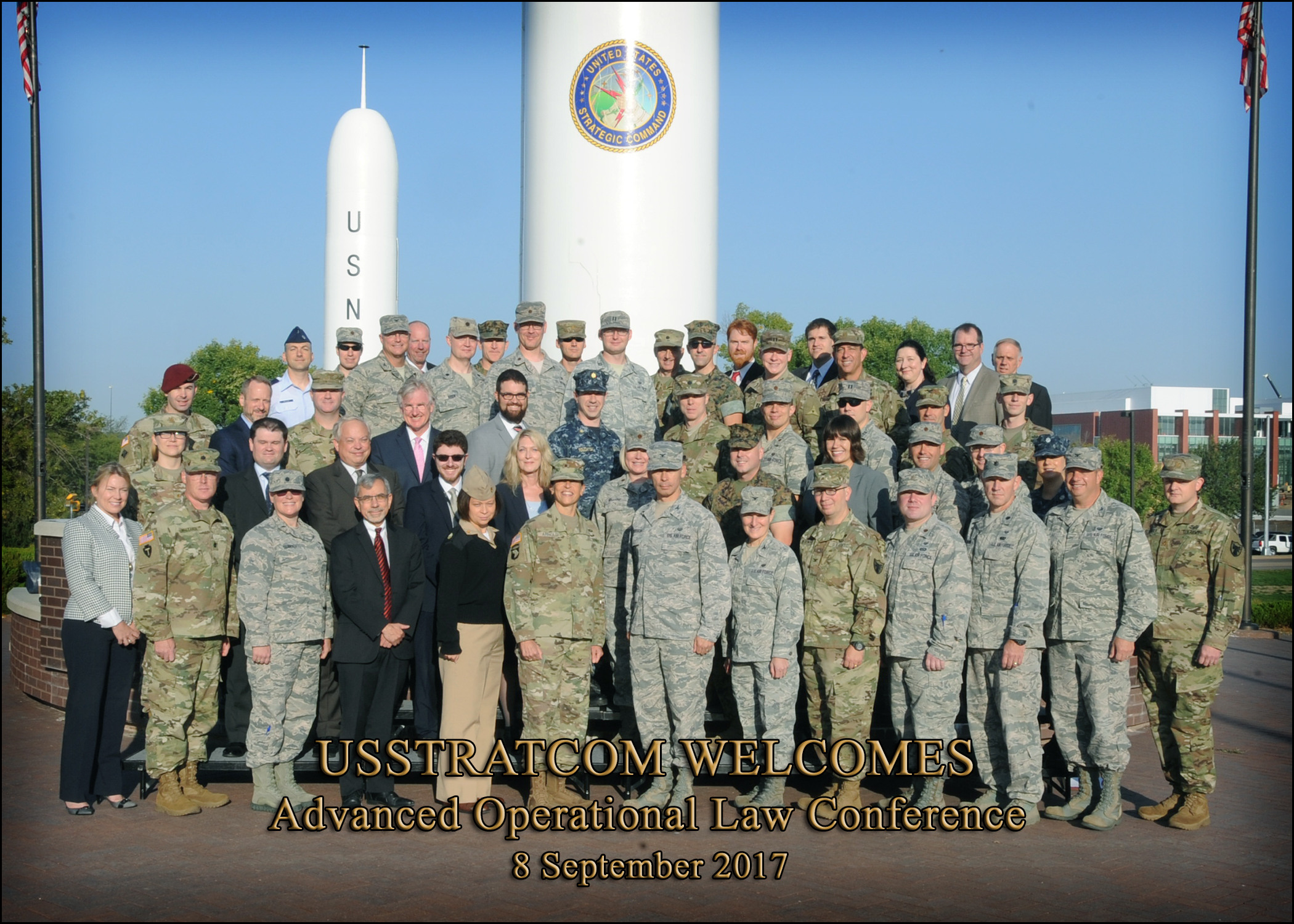 RUMLAE Director at US STRATCOM Advanced Ops Law Conference