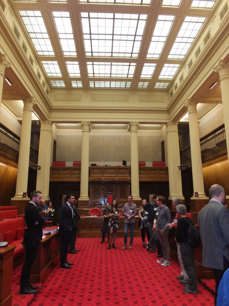 Adelaide Law School Visits South Australia S Parliament House And Research Library Adelaide Law School