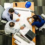 Meeting with contractors
