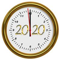 2020 Clock